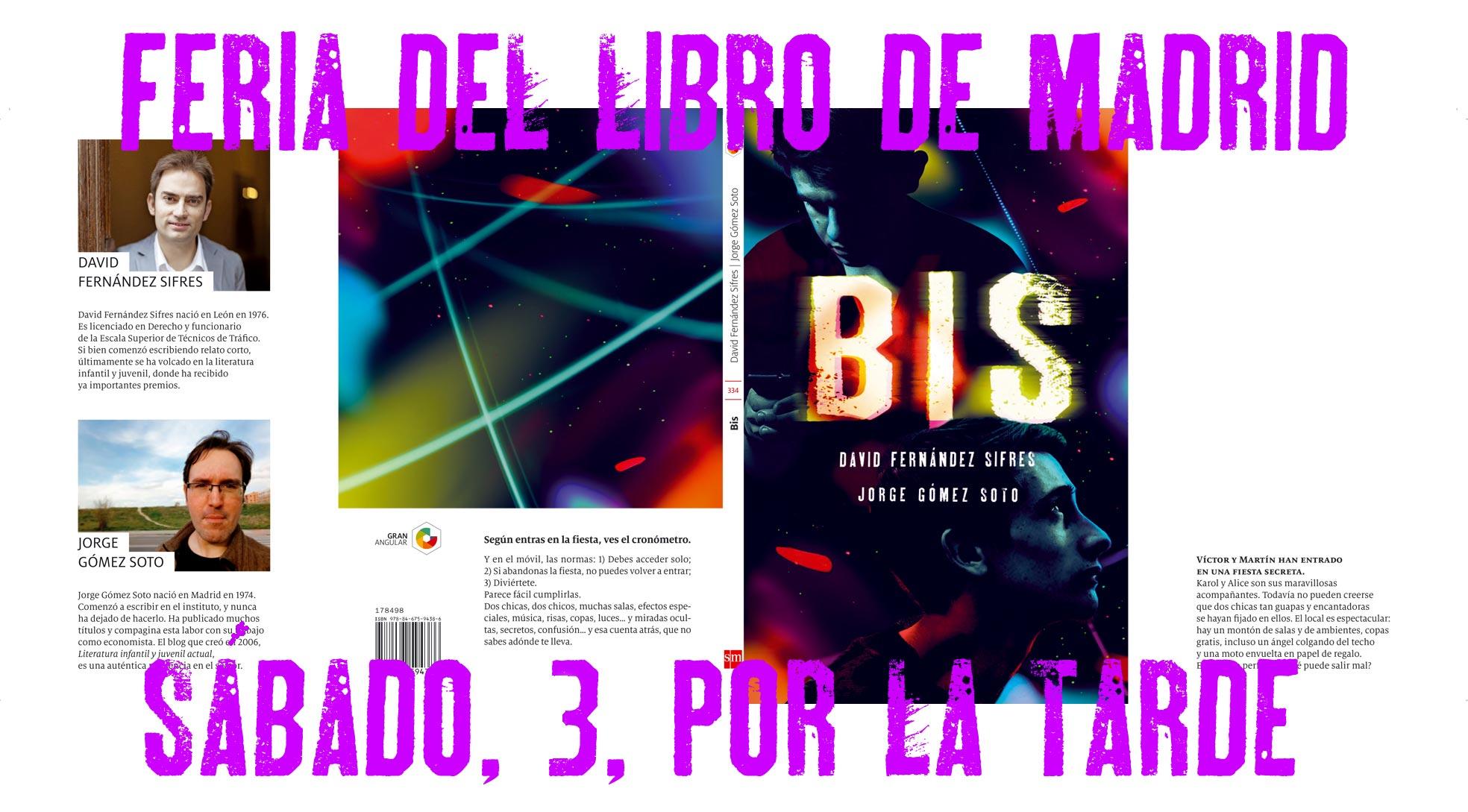 Firmas y eventos en la feria del libro de madrid 2017 for Feria del mueble madrid 2017