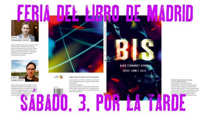 Firmas eventos Feria del Libro Madrid